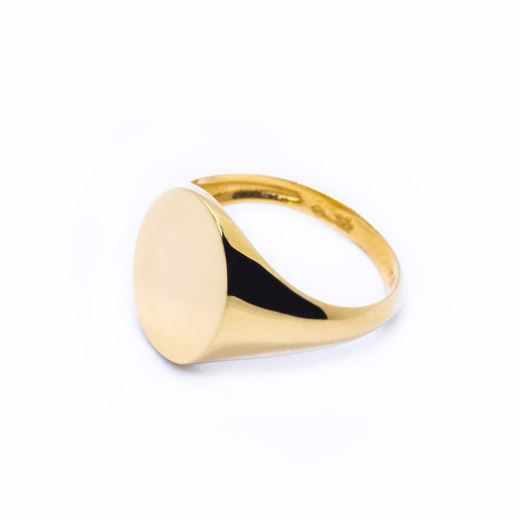 Χρυσό Δαχτυλίδι σεβαλίε οβαλ