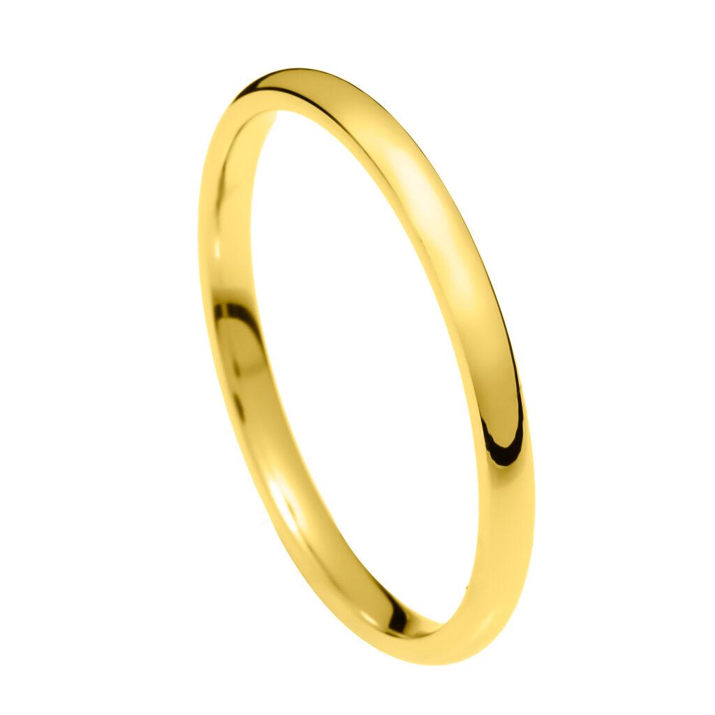 Χρυσές Βέρες Γάμου Στενές