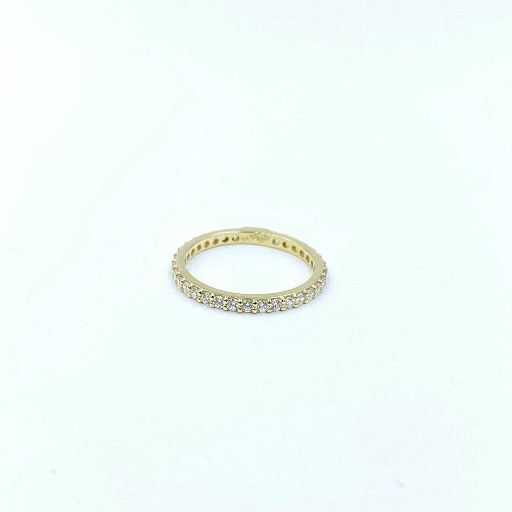 Χρυσό Δαχτυλίδι Ολόβερο