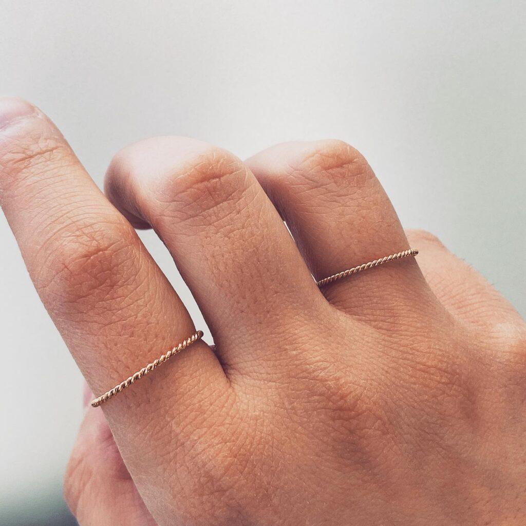 Στριφταράκι Δαχτυλίδι Μονογυιός
