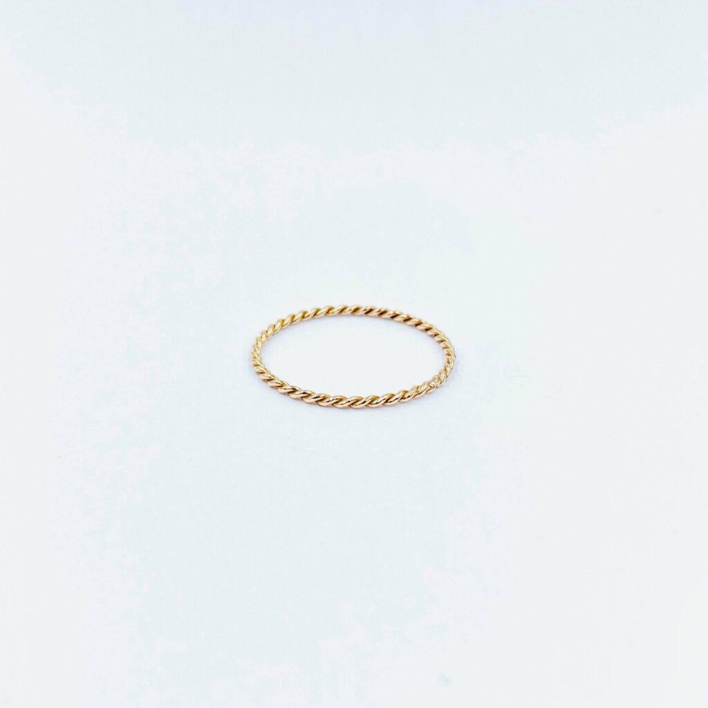 Ροζ Χρυσό Δαχτυλίδι Στριφταράκι