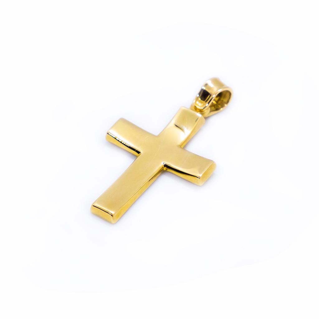 Σταυρός Χρυσός Βαπτιστικός για αγοράκι