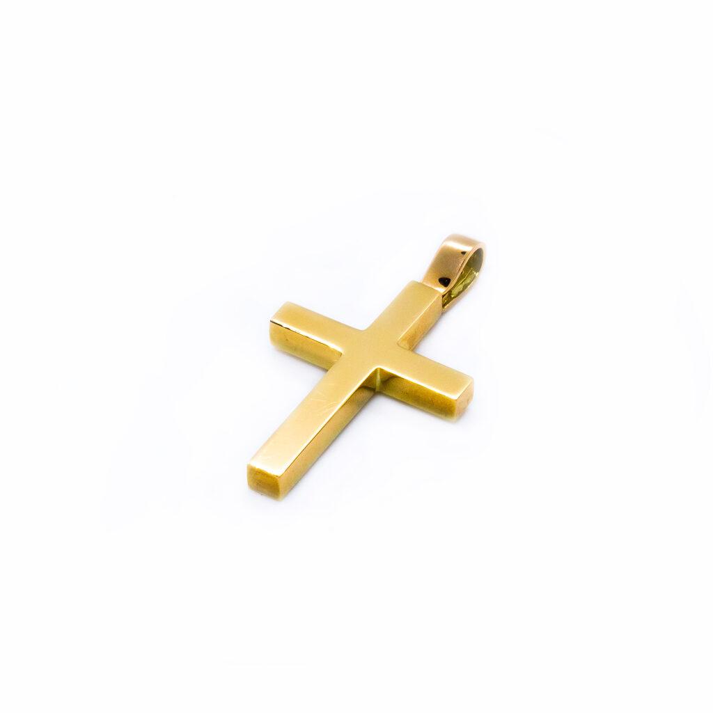 Χρυσός Σταυρός βαπτιστικός για αγοράκι