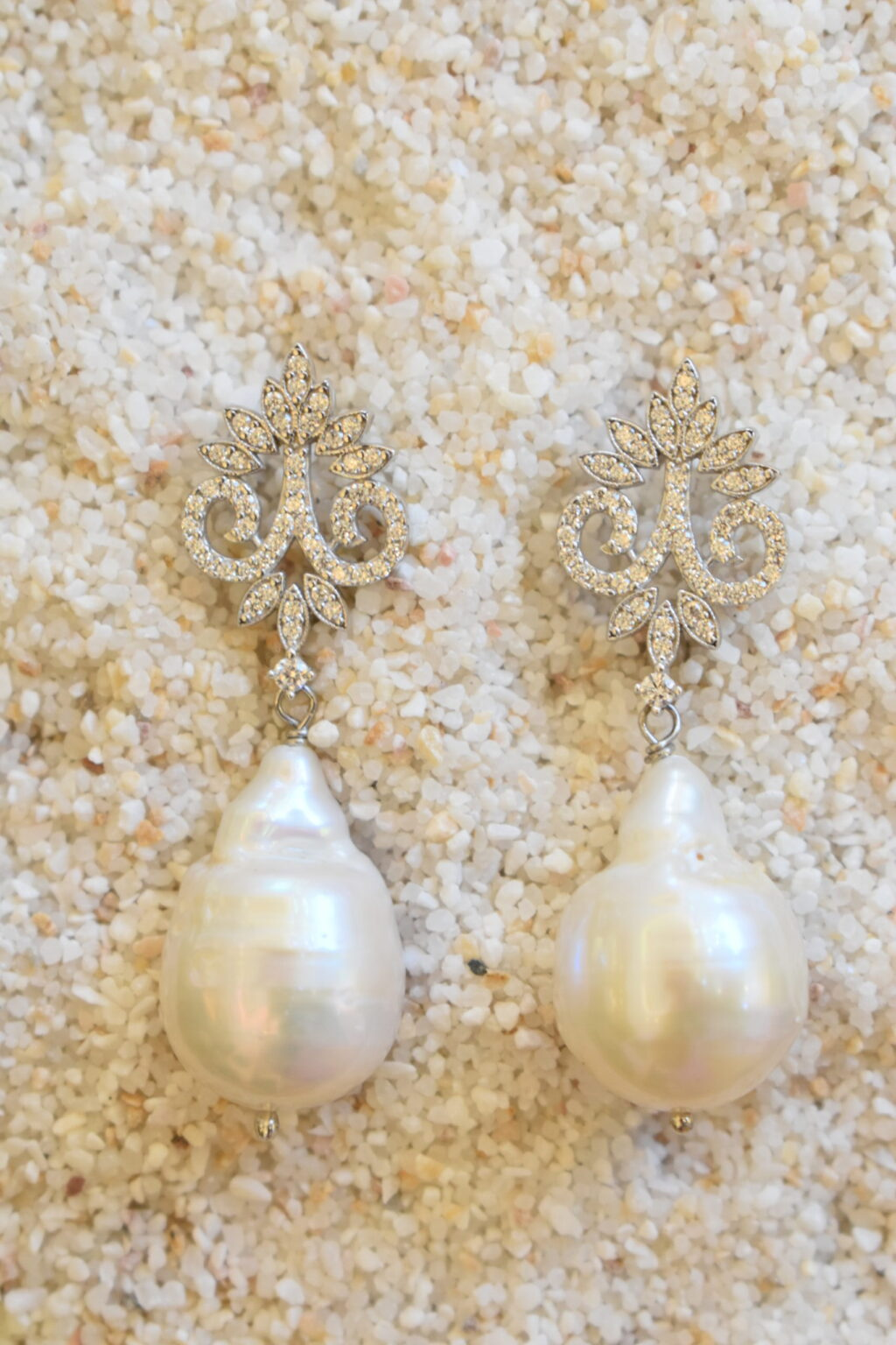 Νυφικά σκουλαρίκια